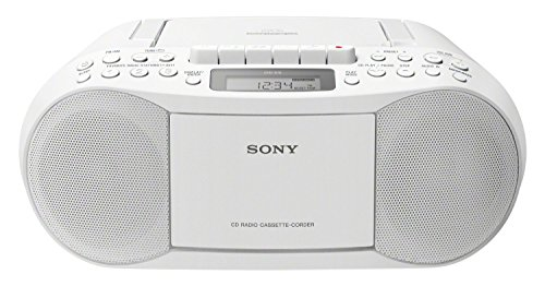 Sony CFD-S70 Boombox (CD, Kasette, Radio) weiß
