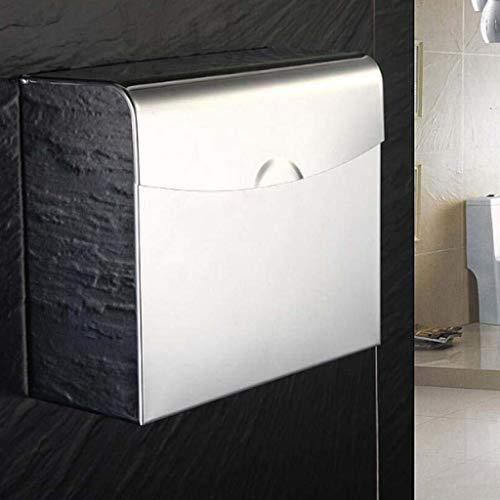 Toilettenpapierhalterung Platz Tissue Box Spiegel Stoff 304 Edelstahl Papierhandtuchhalter Hotel Öffentlicher Toilettenpapierhalter