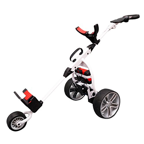 Score Industries Golftrolley Elektrotrolley MOCAD 3.5, Weiß, 35053