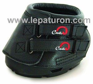 Cavallo Hufschuhe Simple Gr.1 Black 1pr