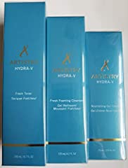 Artistry Hydra-V Fresh Foaming Cleanser will remove oils, makeup, and dirt while leaving skin feeling refreshed. Artistry Hydra-V Fresh Toner conditions, softens, and preps skin to receive optimal hydration benefits. Artistry Hydra-V Nourishing Gel C...