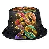 FJXXM Sombrero de Cubo Wish 2020, Sombreros de Cubo con protección UV para picnics de Pesca y navegación
