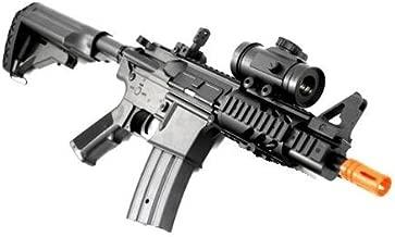 BBTac Airsoft Gun CQB 315-FPS AEG M16/M4 Style Airsoft Rifle with Red Dot Sight