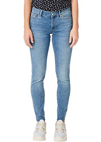 s.Oliver Damen 04.899.71.4713 Skinny Jeans, Blau (Blue Denim Stretch 54Z6), 34W / 30L