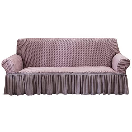SUWIND Fundas de sofá elásticas Fundas de sofá Funda de sofá de Jacquard Suave Fundas de cojín para sofá Fundas de sofá para Protector de habitación