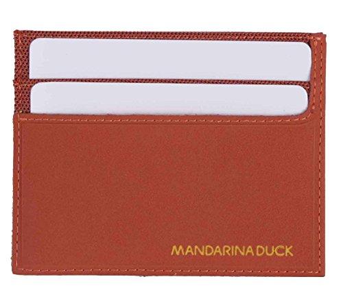 Mandarina Duck TARJETERO Holder, Funda para tarjetas de crédito, naranja, Work Bag #1
