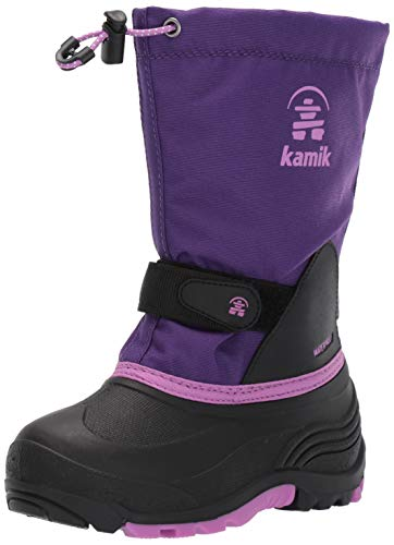 Purple Kids Boots