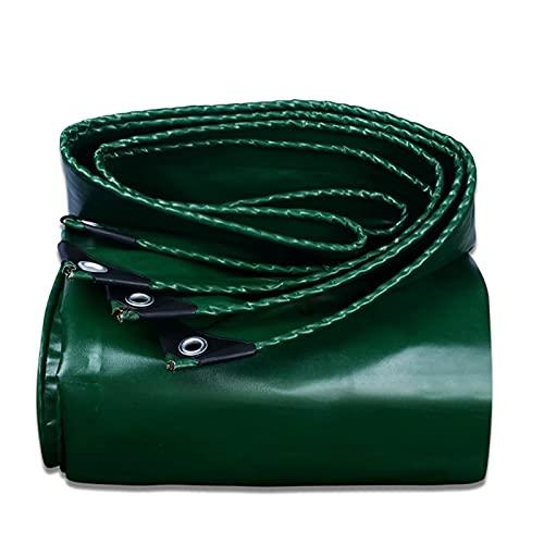 Panno Antipioggia 450 G/m² Telone Impermeabile Panno Parasole Tende Sole Da Esterno Tela Da Giardino Copertura Di Piante Succulente, 22 Taglie AWSAD (Color : Green, Size : 3x8m)
