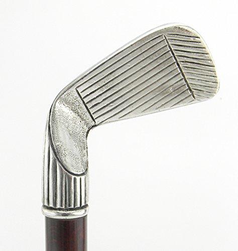 Bastón de paseo con empuñadura de palo de golf