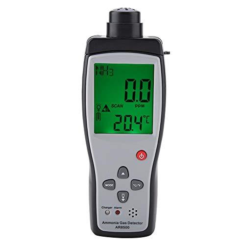 Oumefar Gasmonitor Ammoniakgasdetektor Gasdetektor NH3-Detektor zur Umgebungsüberwachung(European regulations)