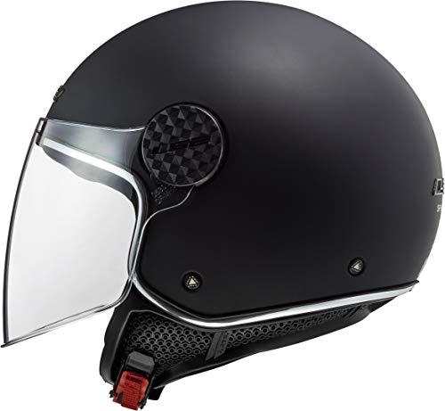 LS2 Casque moto OF558 SPHERE LUX MATT NOIR, Noir, XL