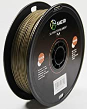1.75mm Bronze PLA 3D Printer Filament - 1kg Spool (2.2 lbs) - Dimensional Accuracy +/- 0.03mm