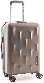 """Hedgren Edge Carve Hardside Carry On Spinner Suitcase, 6 lb, 20"""", Dark Champagne"""