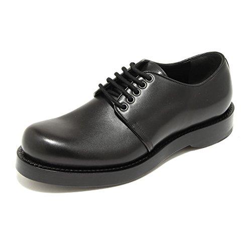 4957G scarpa allacciata uomo nera GUCCI sella lux shoes men [7.5]