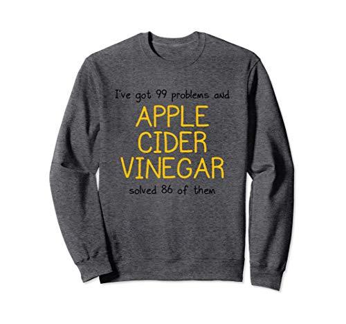 Maglietta per amanti dell'aceto di sidro di mele - Cure for Felpa