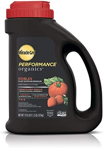 Miracle Gro Performance Organics Edibles Plant Nutrition Granules Plant Food with Natural Organic product image
