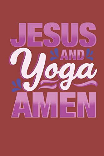 Jesus And Yoga Journal Notebook