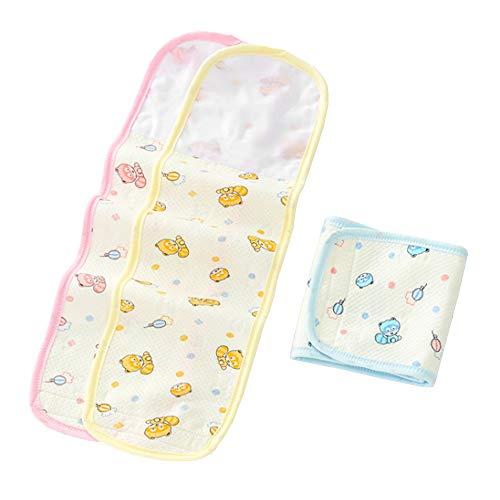 Topwon Cinta de protección para el vientre del bebé para bebé con cordón umbilical para reducir el alivio del gas del bebé, reduce el cólico (52,8 cm de largo), 6,3 cm de ancho