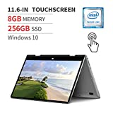 BMAX Y11 Laptop 2 in 1 Touchscreen,11.6-inch Full HD IPS 10-point Touch Display