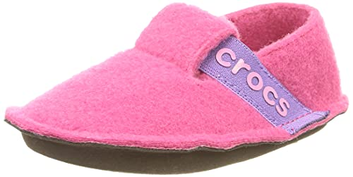 Crocs Classic Slipper K, Pantofole Unisex-Bimbi 0-24, Candy Pink, 20/21 EU