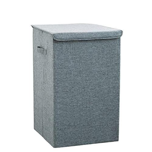 Bolsa de almacenamiento de ropa, cubo de almacenamiento de ropa sucia plegable, contenedor de almacenamiento impermeable de gran capacidad con asa reforzada, adecuado para edredones ropa ropa de cama