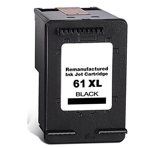Cartucho de tóner compatible para HP 61 para impresoras HP Deskjet 1000 2000 1050 2050 2620 2540 Neid 4500 5530 4635 1512 3051A, bajo nivel de residuos en polvo negro.