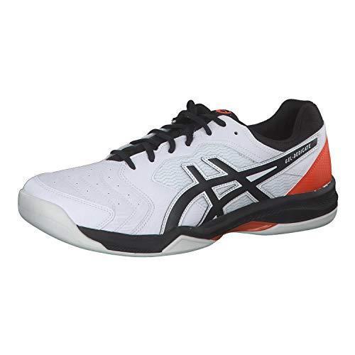 ASICS Gel-Dedicate 6 Indoor, Court Shoe für Herren, Schwarz-Weiß - Größe: 40 EU