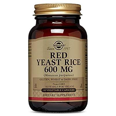 Solgar Red Yeast Rice 60 Vegetable Capsules