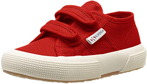 Superga 2750 Jvel Classic, Unisex-Kinder Sneakers, Rot (975), 31 EU