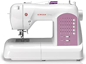 SINGER   Curvy 8763 Computerized Free-Arm Handy Sewing Machine