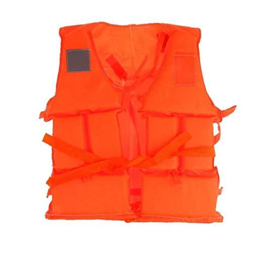 hvxjxk Schwimmen Schwimmweste Segeln Flotation Fishing Driften Ski Aid Lebensrettende Jacke Orange XL