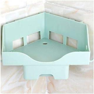pour salle de bain Support de rangement de Douche Panier Organisateur Multifonctionnel Salle De Bains Forte Etagère Sans S...