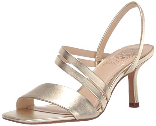 Vince Camuto womens Heeled Sandal,egyptian gold, 7.5 M US