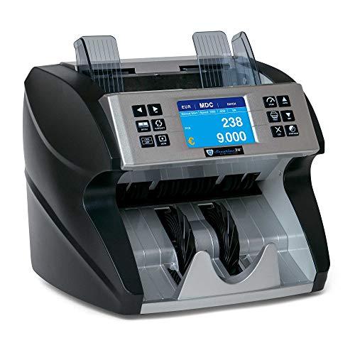 Geldzählmaschine Wertzähler Summe gemischte Banknoten SR9000 von Securina24