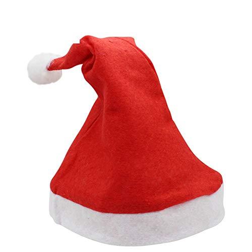 XSM Mini Weihnachtsmütze, Mini Christmas Apple Weinflaschenverschlüsse, Weihnachtsmann Hut Tisch Home 6St