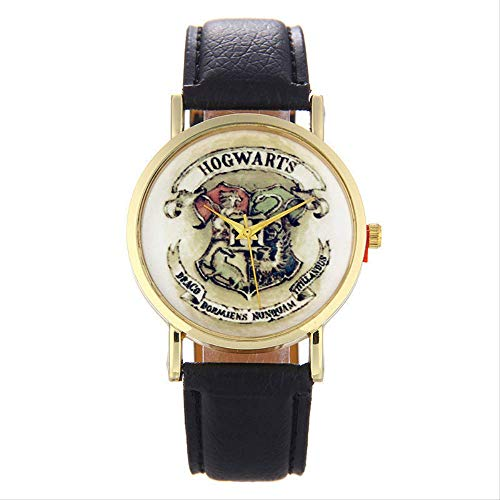 Horloge Quartz Horloge Heren Horloge Harry Potter Badge Patroon Vrije tijd