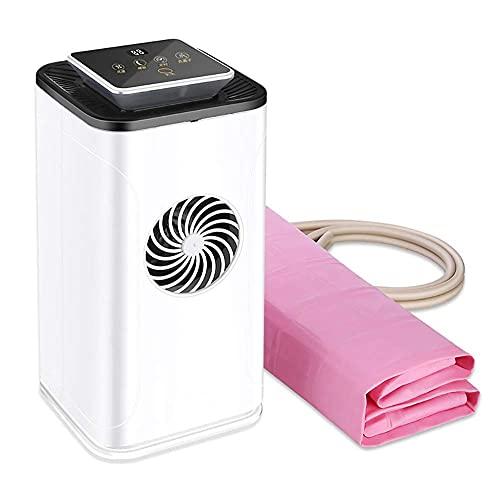 YANGLOU -Luftkonditionering- Sommar intelligent vattencirkulation kylbäddsrum, kylmadrass topper med personlig mini luftkonditionering säng konditionering system, 160 * 70mm, lämplig för inomhus, bil,