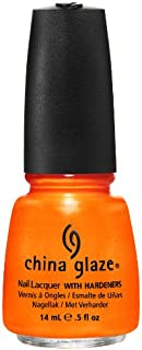 China Glaze Nail Polish Orange, 14 ml, Pack of 1