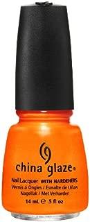 China Glaze Nail Polish Orange, 14 ml, Pack of 1