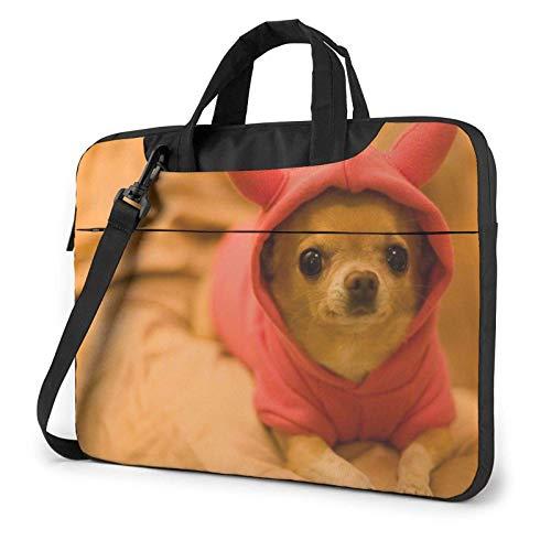 Sac à bandoulière pour Ordinateur Portable Fun Dog imprimé S