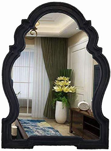 Miroir de maquillage LHY Miroir Décoratif Beauté Miroir Miroir Retro Accueil Mobilier Mur Portail La Mode