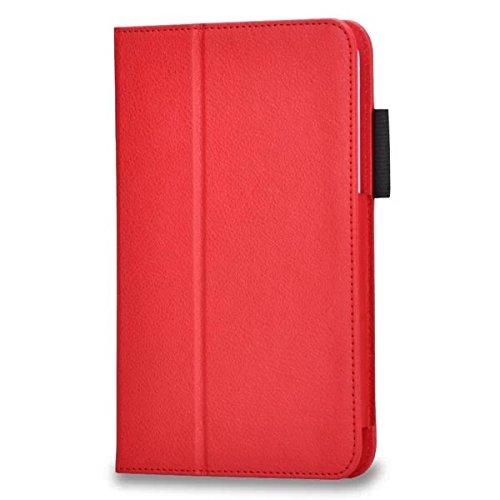 Samsung Galaxy Tab 3Lite 7.0Slim Smart Cover Case–PU Pelle Flip Custodia Protettiva Case Cover Per Samsung Galaxy Tab 37.0Lite T110T111(7pollici) Custodia a Portafoglio in pelle con funzione di supporto Rot