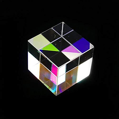 12,7, 12,7, 12,7 Mm X Cube 6 Seitiges Highlight Farbiges Glaswürfelprisma Strahlteilungsprisma Optisches Versuchsinstrument Die Optische Linse Eignet Sich Zur Popularisierung Des Optischen