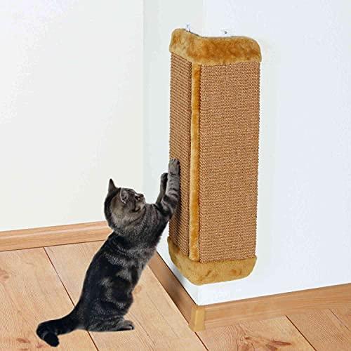 Trixie 43431 Kratzbrett für Zimmerecken, 32 × 60 cm, braun/braun