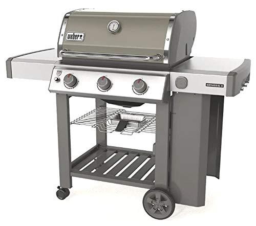 barbecue gas weber genesis Weber Barbecue A Gas Genesis II A 3 FUOCHI Colore Grigio 61051129