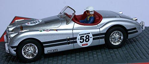 Ninco - Scalextric slot 50465 jaguar xk 120 silver