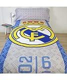 10XDIEZ Funda nórdica Real Madrid 186001 - Medidas Cama - Cama de 90cm