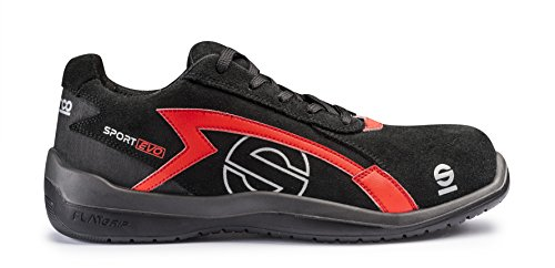 Sparco S0751641NRRS 0751641NRRS, Nero/Rosso, 41
