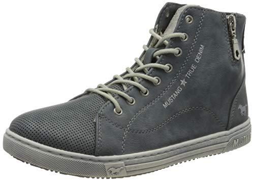 MUSTANG Damen 1349-501-875 Hohe Sneaker, Blau (Sky 875), 41 EU