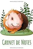 Carnet de Notes: Cahier de 100 pages lignées, format A5 | Un cadeau idéal pour les amoureux des Hamsters et Cochons d'Inde.